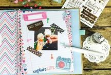 La De Dah Scrapbook Journals / La De Dah is the popular journaling system by Trimcraft designed to keep all the special things worth remembering. It's a home to keep your inspirations, life lists, recipes, snap shots, project ideas, or.... just about anything…  Stick it in and jot it down. There are no rules, no need to be neat or plan out that perfect page, just have fun and make it your own! Each journal holds 42 printed journaling pages and coordinating embellishments designed to make the process a snap!