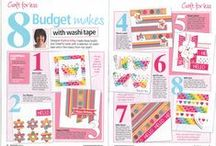 In The Press / A selection of Trimcraft products recently featured in the press.