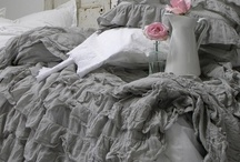 romantic ruffle~bedding