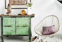Interiors: green touches