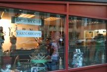 Window Displays / New window displays at our new location on Tremont Pl and 16th St Mall in downtown Denver, CO.