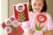 Mother's Day / Mother's Day gift ideas for kids. Lots of easy Mother's Day crafts for kids to make for Mummy.