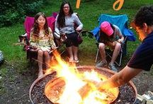 Travelling & Camping With Kids / Ideas to make a family road trips or camping holidays with children fun and successful.