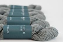 Shibui Yarns / Shibui yarns combine high-quality luxury fibers in a variety of ways to create luxurious and affordable yarns for all types of projects and knitters. Most of the yarns are hand-dyed, in a wide range of colors.