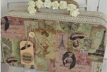 Zelfmaak ideeën van allerleileuks.nl / Vintage creative ideas from our shop! DIY