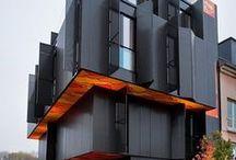 geometrische architectuur / strak