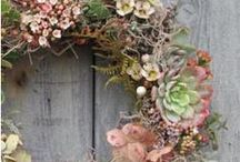 wreaths...i love