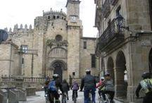 Bicipaseos patrimoniais / Actividade recorrente que promovemos en colaboración con @bilurico e @vouaxenda co obxectivo de dar a coñecer o patrimonio de Ourense fomentando o uso da bicicleta.
