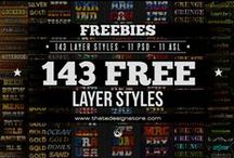 Freebies / Here are some given away PSD templates. Very easy to edit and totally FREE ! Enjoy !