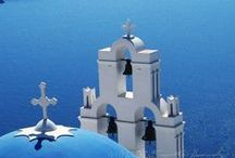 Grèce, mon pays de coeur / by Christiane Cornet