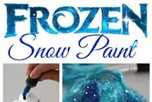 Disney Frozen Love! / Disney Frozen arts, crafts and party food & games for all your little Disney Frozen fans.
