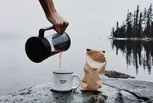 Coffee / is always a good idea.