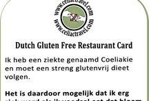 glutenvrije dieetkaarten - gluten free restaurant / glutenvrije dieetkaarten - gluten free restaurant