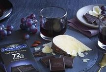 Chocolate Pairings / Anytime is the perfect time for discovering dark chocolate (and impressing your friends at the next get-together). Here are deliciously intense pairing suggestions for our Intense Dark bars that are sure to get the conversation started! / by Ghirardelli Chocolate Company