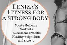 Fit with Deniza - Fitness / Fitness related articles published on askdeniza.com Fitness and exercise tips, workouts, how to activate muscles. Based on the latest sports medicine research. Build muscle, lose fat, get lean legs and tight abs, lift your butt and thighs, improve your posture and prevent injuries and arthritis!