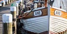 Am Hafen {mari & ola} / Schiffe und Boote an den schönen Häfen der Ostsee.