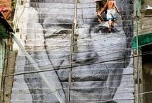 street art/land art