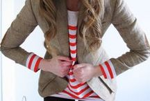 My Invisible Closet / I have an obsession with stripes, polka dots, and cardigans!