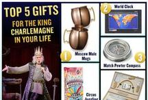 #PippinGiftGuide - The King / Live like a king! Perfect gifts for the person who has it all. #PippinGiftGuide