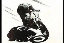 Vintage posters motorcycles