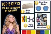 #PippinGiftGuide - Catherine  / Gifts for the Ordinary Woman. #PippinGiftGuide