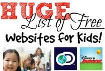 Crazy for Websites / Looking for great websites for your elementary students? Searching for great places on the web for your kids? This board is full of fantastic websites for kids!