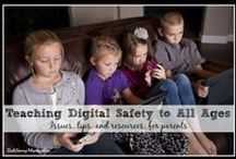 Crazy for Digital Safety / This board is full of digital safety tips for kids and students. Tips on teaching students in your classroom about digital safety on social media and the internet.