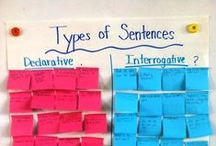 Crazy for Grammar / Searching for tips on teaching grammar and language in the elementary classroom? This board is packed with language activities and ideas for teaching grammar rules.