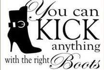 [Boots & Booties] / Life is short. Buy those boots~