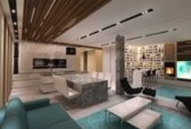 Latest works / Legújabb munkák / Interior design & visualisation / Belsőépítészeti tervezés & látványtervezés