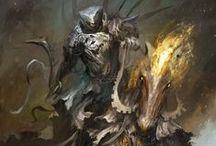 The Four Horsemen / The Four Horsemen painted by Daniel Kamarudin