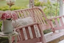 Shabby Chic Decor / Shabby Chic decorating ideas. Great  products to purchase, room design tips, and DIY decorating ideas. To join please send a message with board name. Please pin only on topic pins.