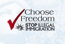 Stop Illegal Immigration / Amnesty and guest worker legislation are a slap in the face to legal immigrants who have worked hard to navigate the immigration laws in order to come here for better opportunities. This project is designed to promote the rule of law by enforcing existing immigration laws and to stop the incentives that continue to lure in illegal aliens.
