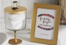 CANDLE JAR REPURPOSING / Ideas and inspiration on how to repurpose your Fragrant Jewels candle jars!