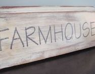 Farmhouse Chic / Inspiration for your farmhouse decorating. To join please send a message with board name. Please pin only on topic pins.