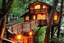 Tree Houses / Beautiful and unique tree houses