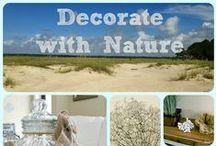 Flourish Inspiration / Decorating with nature - Bring the wonder of nature indoors