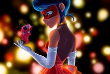 Ladybug y Catnoir / Martinettte encantadora salvadora de Paris
