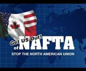 Get US Out of NAFTA / For more than 20 years, we have witnessed NAFTA's destruction throughout America! Now globalists want to update, modernize, and expand NAFTA to create the North American Union. We stopped the NAU in 2009, and with your help, we can do it again. Let's create the pressure needed to Get US Out! of NAFTA.