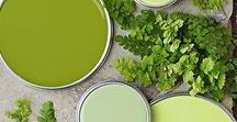 Green Decor Ideas / Green home decor accents and accessories for your home #greenery