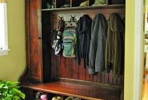 Mudroom / Back entrance/laundry