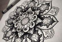 TATTOO//Henna IDEAS / Ideas and inspiration for future tattoos