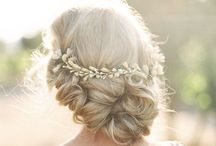 Wedding day hair styles for men & women / A board for different hairlstyle ideas for both men and women