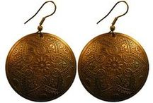 Earrings - Rahab's Rope / Earrings to stop human trafficking.  What could be better?