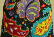 Rug Hooking Designs / Both modern & antique.... Many are patterns available from my website.