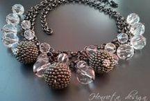 Henrieta Lebo beadwork & dancewear / Beads, pearls, crystals, minerals & semiprecious stones