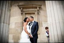 Bride and Groom Portraits / Portraits of Brides and Grooms by Wedding Photographer Paul Rogers