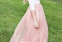 Maxi skirts, maxi dresses
