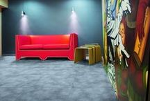 Raised Floor  (Sopraelevato) / Floor systems made with modular floor panels made with Abet Print HPL