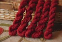 Wool Applique Supplies / Hours of hand stitching deserve lovingly hand dyed fibers...